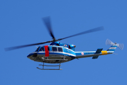 yabyanさんが、名古屋飛行場で撮影した大阪府警察 412EPの航空フォト(飛行機 写真・画像)