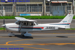 Chofu Spotter Ariaさんが、調布飛行場で撮影したジェイ・ディ・エル技研 172R Skyhawkの航空フォト(飛行機 写真・画像)