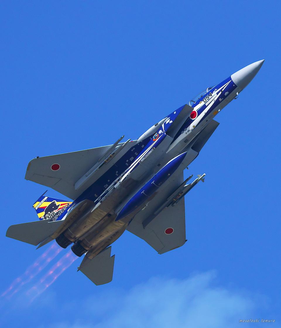 MASACHANさんの航空自衛隊 McDonnell Douglas F-15DJ Eagle (12-8054) 航空フォト