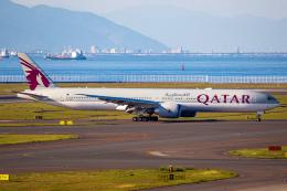 Shimejiさんが、中部国際空港で撮影したカタール航空 777-3DZ/ERの航空フォト(飛行機 写真・画像)