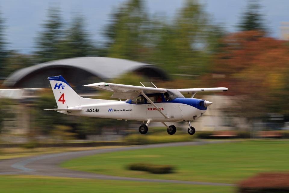 Assk5338さんの本田航空 Cessna 172 (JA34HA) 航空フォト