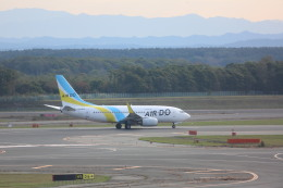 meijeanさんが、新千歳空港で撮影したAIR DO 737-781の航空フォト(飛行機 写真・画像)