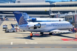 amagoさんが、サンフランシスコ国際空港で撮影したスカイウエスト CL-600-2B19 Regional Jet CRJ-200LRの航空フォト(飛行機 写真・画像)