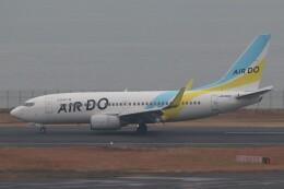 BOEING737MAX-8さんが、羽田空港で撮影したAIR DO 737-781の航空フォト(飛行機 写真・画像)
