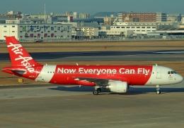 SFJ_capさんが、福岡空港で撮影したエアアジア・ジャパン(〜2013) A320-216の航空フォト(飛行機 写真・画像)