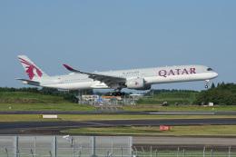 神宮寺ももさんが、成田国際空港で撮影したカタール航空 A350-1041の航空フォト(飛行機 写真・画像)