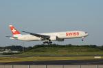 神宮寺ももさんが、成田国際空港で撮影したスイスインターナショナルエアラインズ 777-3DE/ERの航空フォト(飛行機 写真・画像)