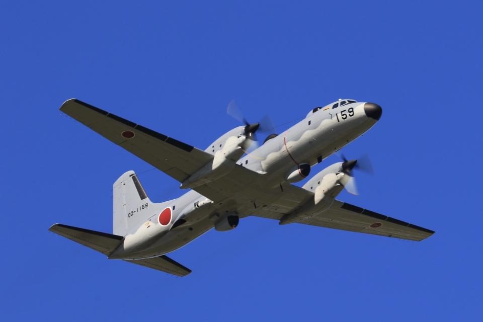 aki241012さんの航空自衛隊 NAMC YS-11 (02-1159) 航空フォト