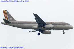 Chofu Spotter Ariaさんが、静岡空港で撮影したアシアナ航空 A320-232の航空フォト(飛行機 写真・画像)