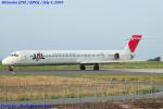 Chofu Spotter Ariaさんが、静岡空港で撮影した日本航空 MD-90-30の航空フォト(飛行機 写真・画像)