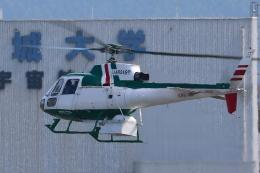 Zakiyamaさんが、熊本空港で撮影したアカギヘリコプター AS350B2 Ecureuilの航空フォト(飛行機 写真・画像)