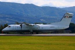 Zakiyamaさんが、熊本空港で撮影した国土交通省 航空局 DHC-8-315Q Dash 8の航空フォト(飛行機 写真・画像)