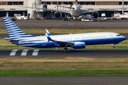 KoshiTomoさんが、羽田空港で撮影したEIEイーグル 737-8EQ BBJ2の航空フォト(飛行機 写真・画像)