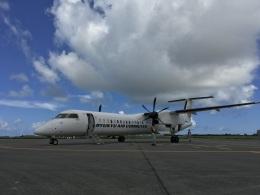 Super Dolphinさんが、宮古空港で撮影した琉球エアーコミューター DHC-8-402Q Dash 8 Combiの航空フォト(飛行機 写真・画像)