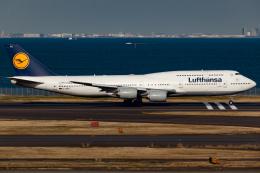 KoshiTomoさんが、羽田空港で撮影したルフトハンザドイツ航空 747-830の航空フォト(飛行機 写真・画像)