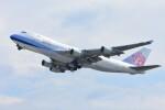 M.Tさんが、関西国際空港で撮影したチャイナエアライン 747-409F/SCDの航空フォト(飛行機 写真・画像)