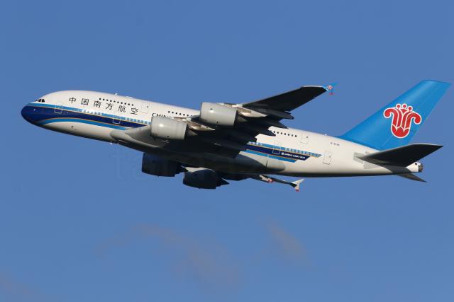 多摩川崎2Kさんが、成田国際空港で撮影した中国南方航空 A380-841の航空フォト(飛行機 写真・画像)