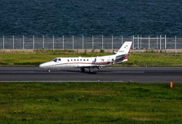 HND_fanさんが、羽田空港で撮影した読売新聞 560 Citation Encore+の航空フォト(飛行機 写真・画像)