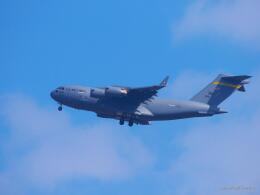 MASACHANさんが、新田原基地で撮影したアメリカ空軍 C-17A Globemaster IIIの航空フォト(飛行機 写真・画像)