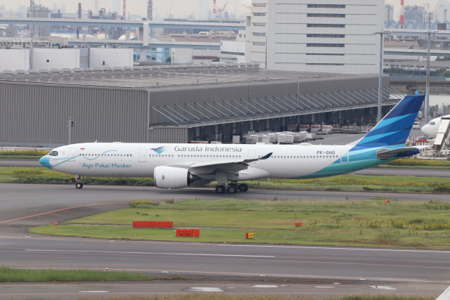 クロマティさんが、羽田空港で撮影したガルーダ・インドネシア航空 A330-941の航空フォト(飛行機 写真・画像)