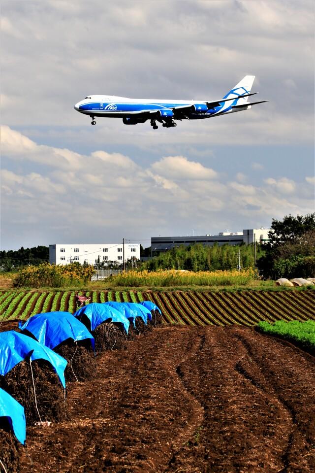 ☆ライダーさんが、成田国際空港で撮影したエアブリッジ・カーゴ・エアラインズ 747-8HVFの航空フォト(飛行機 写真・画像)
