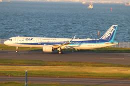 クロマティさんが、羽田空港で撮影した全日空 A321-272Nの航空フォト(飛行機 写真・画像)