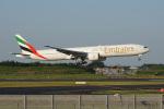 神宮寺ももさんが、成田国際空港で撮影したエミレーツ航空 777-31H/ERの航空フォト(飛行機 写真・画像)