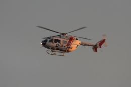 Hiro-hiroさんが、新潟空港で撮影した朝日航洋 BK117C-2の航空フォト(飛行機 写真・画像)