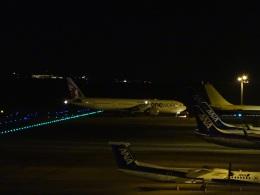 ukokkeiさんが、中部国際空港で撮影したカタール航空 777-3DZ/ERの航空フォト(飛行機 写真・画像)