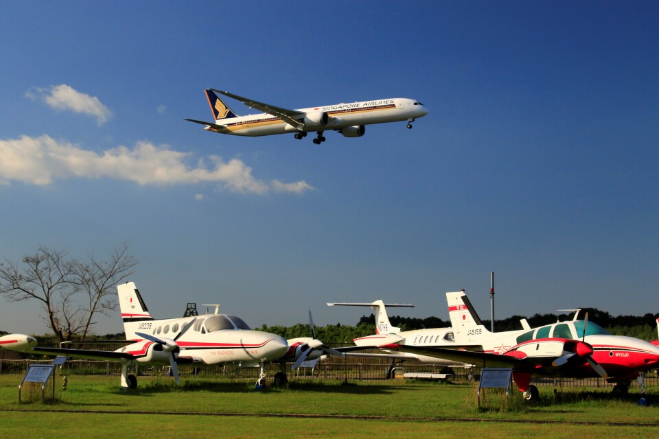 ☆ライダーさんのシンガポール航空 Boeing 787-10 (9V-SCK) 航空フォト