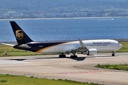 deideiさんが、関西国際空港で撮影したUPS航空 767-34AF/ERの航空フォト(飛行機 写真・画像)