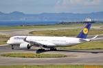 deideiさんが、関西国際空港で撮影したルフトハンザドイツ航空 A350-941の航空フォト(飛行機 写真・画像)