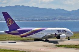 deideiさんが、関西国際空港で撮影したタイ国際航空 A380-841の航空フォト(飛行機 写真・画像)