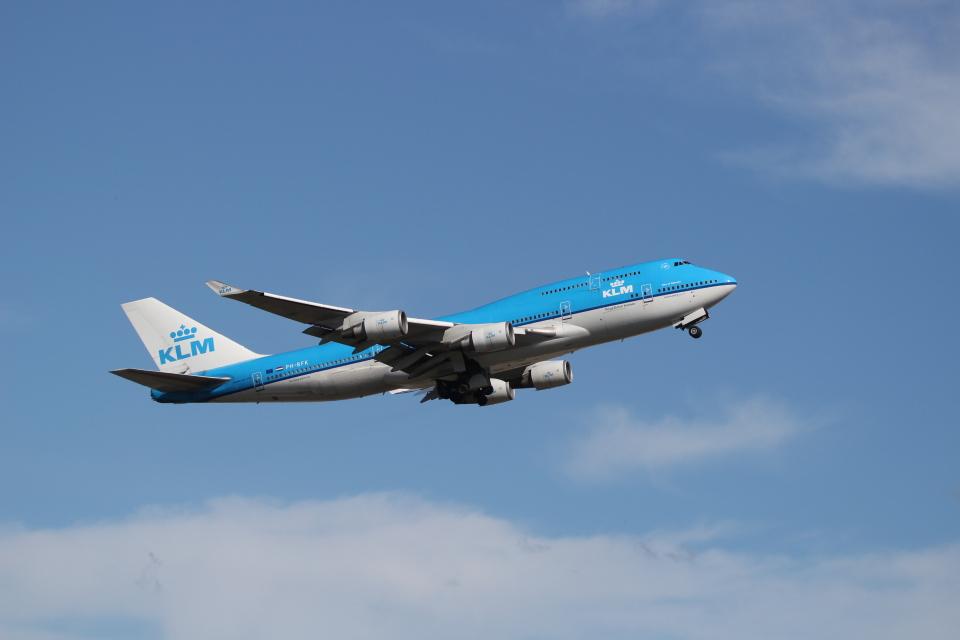 mahiちゃんさんのKLMオランダ航空 Boeing 747-400 (PH-BFK) 航空フォト