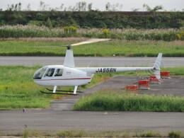 F.YUKIHIDEさんが、岡南飛行場で撮影したオートパンサー R44 Ravenの航空フォト(飛行機 写真・画像)