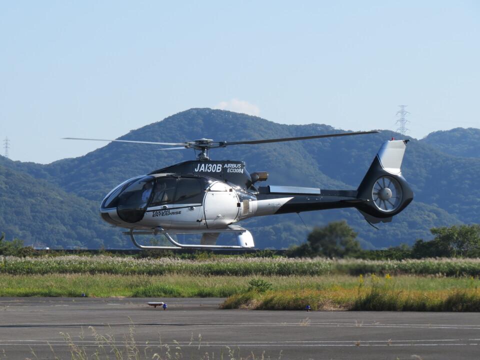 F.YUKIHIDEさんの日本法人所有 Eurocopter EC130 (JA130B) 航空フォト