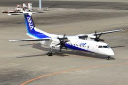 とらとらさんが、羽田空港で撮影したANAウイングス DHC-8-402Q Dash 8の航空フォト(飛行機 写真・画像)