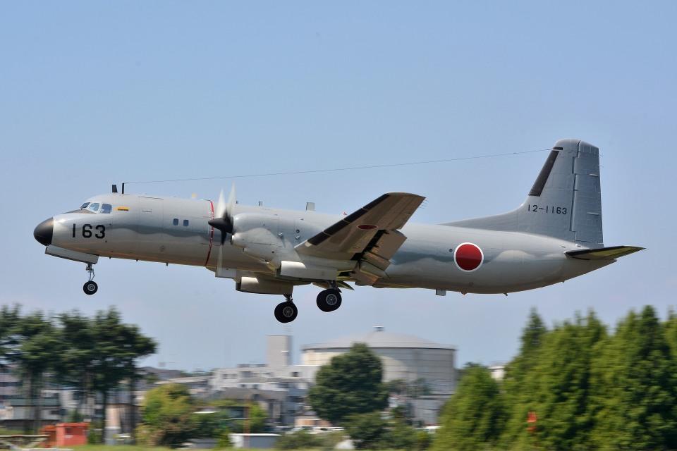 サンドバンクさんの航空自衛隊 NAMC YS-11 (12-1163) 航空フォト