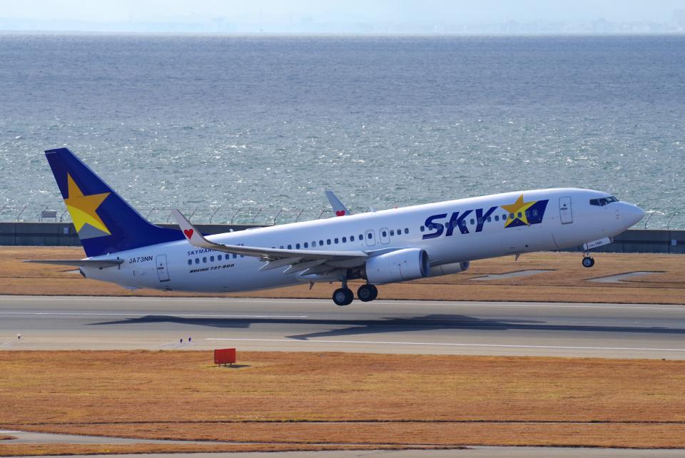 yabyanさんのスカイマーク Boeing 737-800 (JA73NN) 航空フォト