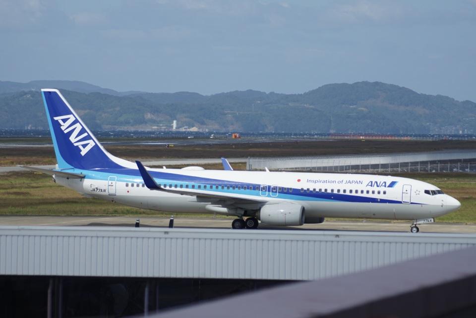 ✈︎Love♡ANA✈︎さんの全日空 Boeing 737-800 (JA77AN) 航空フォト