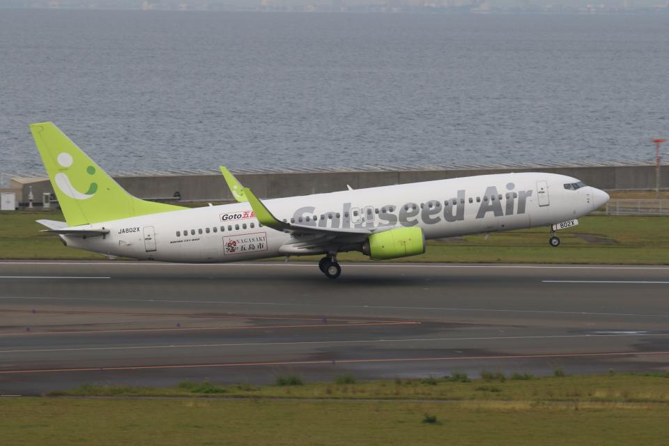 ゴンタさんのソラシド エア Boeing 737-800 (JA802X) 航空フォト