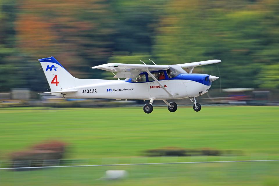 Nao0407さんの本田航空 Cessna 172 (JA34HA) 航空フォト