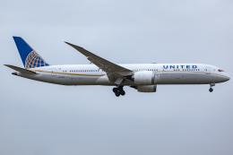 KoshiTomoさんが、成田国際空港で撮影したユナイテッド航空 787-9の航空フォト(飛行機 写真・画像)