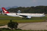 TIA spotterさんが、福岡空港で撮影したキャセイドラゴン A330-343Xの航空フォト(飛行機 写真・画像)