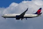 zettaishinさんが、ジェネラル・エドワード・ローレンス・ローガン国際空港で撮影したデルタ航空 737-932/ERの航空フォト(飛行機 写真・画像)