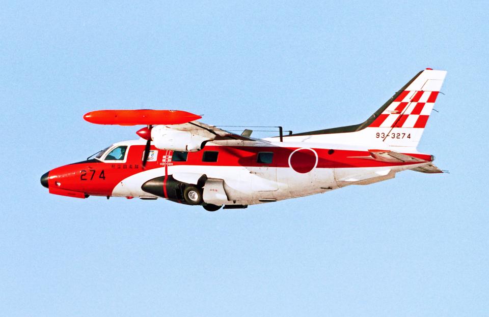 A-330さんの航空自衛隊 Mitsubishi MU-2 (93-3274) 航空フォト