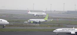 誘喜さんが、羽田空港で撮影したソラシド エア 737-86Nの航空フォト(飛行機 写真・画像)