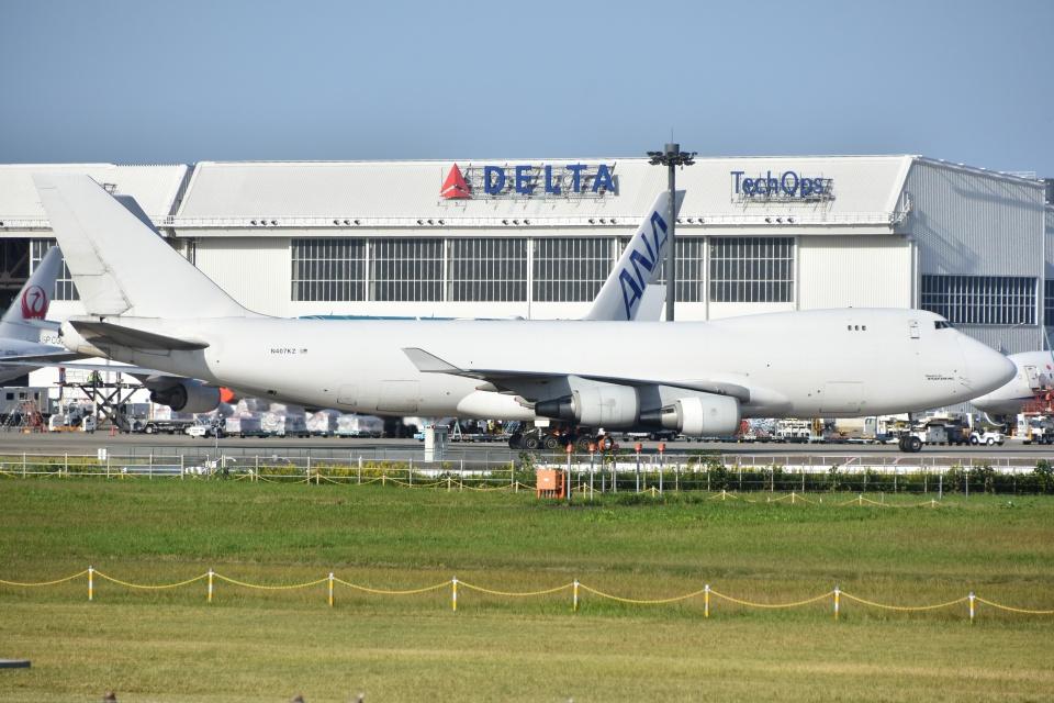 Izumixさんのアトラス航空 Boeing 747-400 (N407KZ) 航空フォト