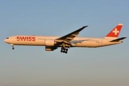 Izumixさんが、成田国際空港で撮影したスイスインターナショナルエアラインズ 777-3DE/ERの航空フォト(飛行機 写真・画像)