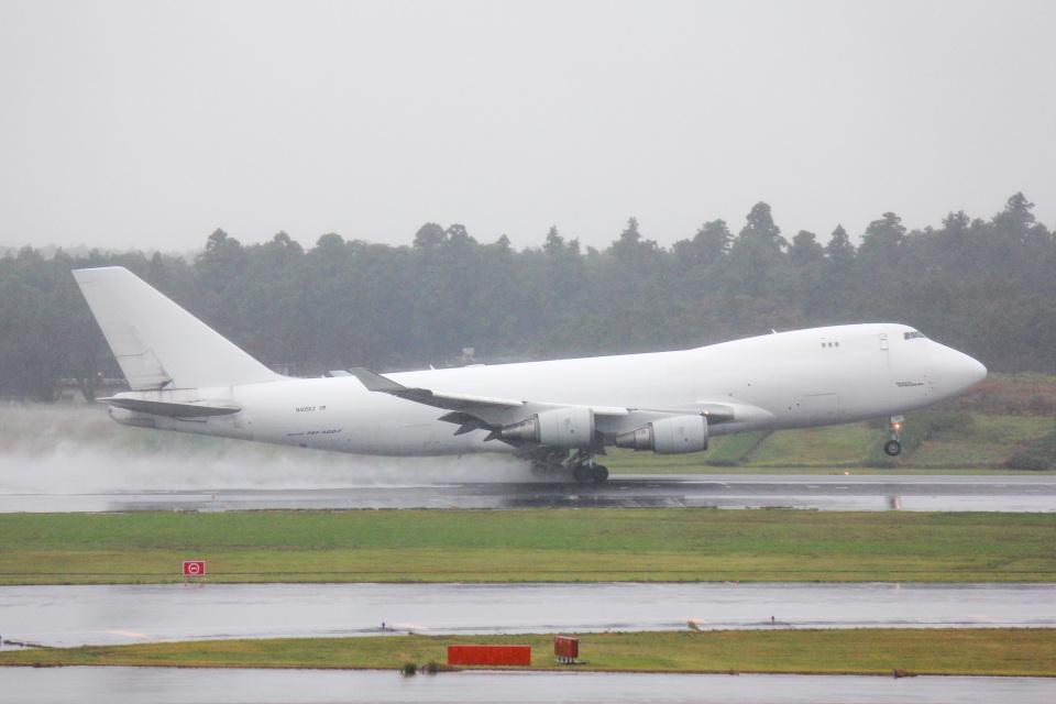かっちゃん✈︎さんのアトラス航空 Boeing 747-400 (N405KZ) 航空フォト
